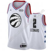 Toronto Raptors Basketball Trikots 2019 Kawhi Leonard 2# Weiß All Star Game Swingman..