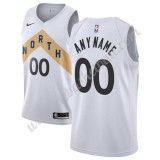 Toronto Raptors Basketball Trikots NBA 2019-20 Weiß City Edition Swingman