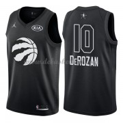 Toronto Raptors Basketball Trikots DeMar DeRozan 10# Black 2018 All Star Game Swingman..