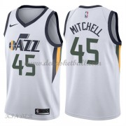 Basketball Trikot Kinder Utah Jazz 2018 Donovan Mitchell 45# Home Swingman..