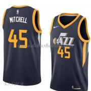 Basketball Trikot Kinder Utah Jazz 2018 Donovan Mitchell 45# Road Swingman..