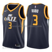 Basketball Trikot Kinder Utah Jazz 2018 Ricky Rubio 3# Road Swingman..