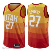 Basketball Trikot Kinder Utah Jazz 2018 Rudy Gobert 27# City Swingman..