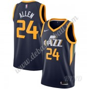 Basketball Trikot Kinder Utah Jazz 2019-20 Grauson Allen 24# Marine Icon Edition Swingman..