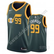 Basketball Trikot Kinder Utah Jazz 2019-20 Jae Crowder 99# Grün Earned Edition Swingman..