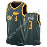 Basketball Trikot Kinder Utah Jazz 2019-20 Ricky Rubio 3# Grün Earned Edition Swingman..