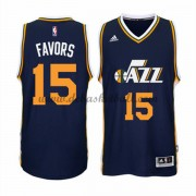 Utah Jazz Basketball Trikots 2015-16 Derrick Favors 15# Road Trikot Swingman..
