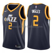 Utah Jazz Basketball Trikots 2018 Joe Ingles 2# Road Trikot Swingman..