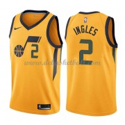 Utah Jazz Basketball Trikots 2018 Joe Ingles 2# Alternate Trikot Swingman..