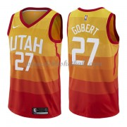 Utah Jazz Basketball Trikots 2018 Rudy Gobert 27# City Swingman..