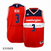 Basketball Trikot Kinder Washington Wizards 2015-16 Bradley Beal 3# Road Swingman..