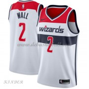 Basketball Trikot Kinder Washington Wizards 2018 John Wall 2# Home Swingman..