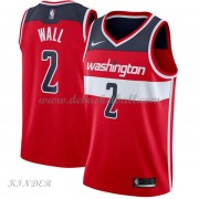 Basketball Trikot Kinder Washington Wizards 2018 John Wall 2# Road Swingman..