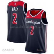Basketball Trikot Kinder Washington Wizards 2018 John Wall 2# Alternate Swingman..