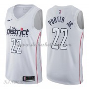 Basketball Trikot Kinder Washington Wizards 2018 Otto Porter Jr. 22# City Swingman..