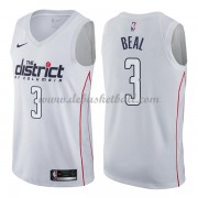 Washington Wizards Basketball Trikots 2018 Bradley Beal 3# City Swingman..