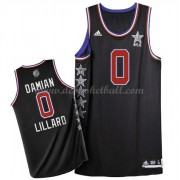 West All Star Game Basketball Trikots 2015 Damian Lillard 0# NBA Swingman