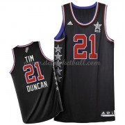 West All Star Game Basketball Trikots 2015 Tim Duncan 21# NBA Swingman
