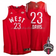 West All Star Game Basketball Trikots 2016 Anthony Davis 23# NBA Swingman..