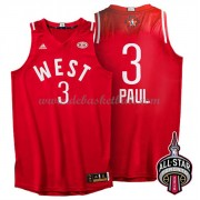 West All Star Game Basketball Trikots 2016 Chris Paul 3# NBA Swingman..