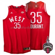 West All Star Game Basketball Trikots 2016 Kevin Durant 35# NBA Swingman..