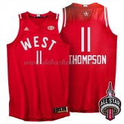 West All Star Game Basketball Trikots 2016 Klay Thompson 11# NBA Swingman..