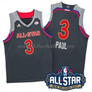 West All Star Game Basketball Trikots 2017 Chris Paul 3# NBA Swingman..
