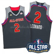 West All Star Game Basketball Trikots 2017 Kawhi Leonard 2# NBA Swingman..