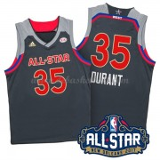 West All Star Game Basketball Trikots 2017 Kevin Durant 35# NBA Swingman..