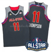 West All Star Game Basketball Trikots 2017 Klay Thompson 11# NBA Swingman..