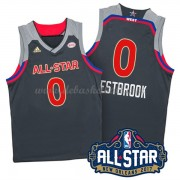 West All Star Game Basketball Trikots 2017 Russell Westbrook 0# NBA Swingman..