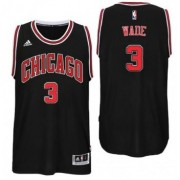 Chicago Bulls Basketball Trikots 2017-18 Dwyane Wade 3# Alternate Trikot Swingman..