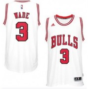 Chicago Bulls Basketball Trikots 2017-18 Dwyane Wade 3# Home Trikot Swingman..