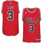 Chicago Bulls Basketball Trikots 2017-18 Dwyane Wade 3# Road Trikot Swingman..