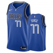 Basketball Trikot Kinder Dallas Mavericks 2019-20 Luka Doncic 77# Blau Icon Edition Swingman..