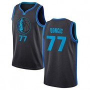Basketball Trikot Kinder Dallas Mavericks 2019-20 Luka Doncic 77# City Edition Swingman..