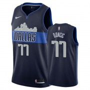 Basketball Trikot Kinder Dallas Mavericks 2019-20 Luka Doncic 77# Marine Statement Edition Swingman..