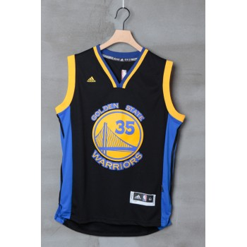 Golden State Warriors Basketball Trikots 2015-16 Kevin Durant 35# Alternate Trikot Swingman