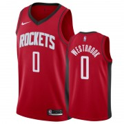 Basketball Trikot Kinder Houston Rockets 2019-20 Russell Westbrook 0# Rot Icon Edition Swingman..