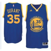 Golden State Warriors Basketball Trikots 2015-16 Kevin Durant 35# Road Trikot Swingman..