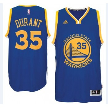 Golden State Warriors Basketball Trikots 2015-16 Kevin Durant 35# Road Trikot Swingman