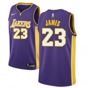 6f4a6a96df5 Los Angeles Lakers Basketball Trikots 2018 LeBron James 23# Alternate Trikot  Swingman.